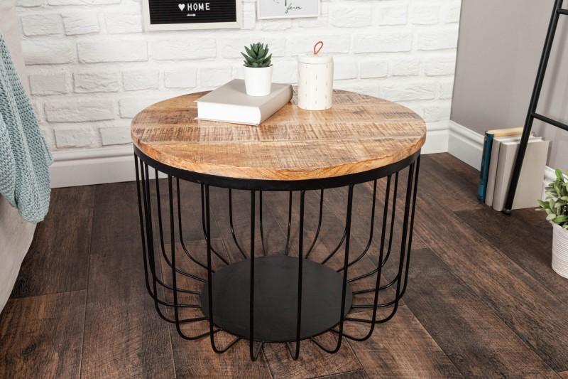 Konferenční stolek Factory Loft 56cm přírodní mango / 39655