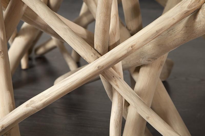 Konferenční stolek Driftwood 80cm rám / 19806-1