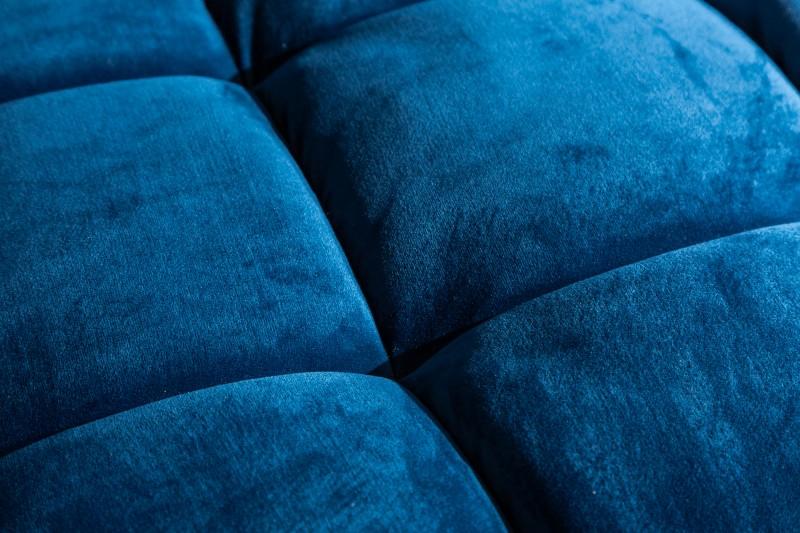Pohovka Sheilla 225cm - modrá, samet / 39844