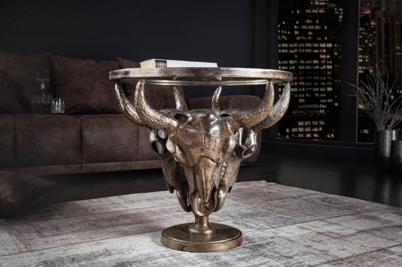Konferenční stolek Matador 56cm bronz / 39881