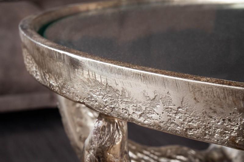 Konferenční stolek Buffalo 56cm x 56cm  - bronzový / 39881