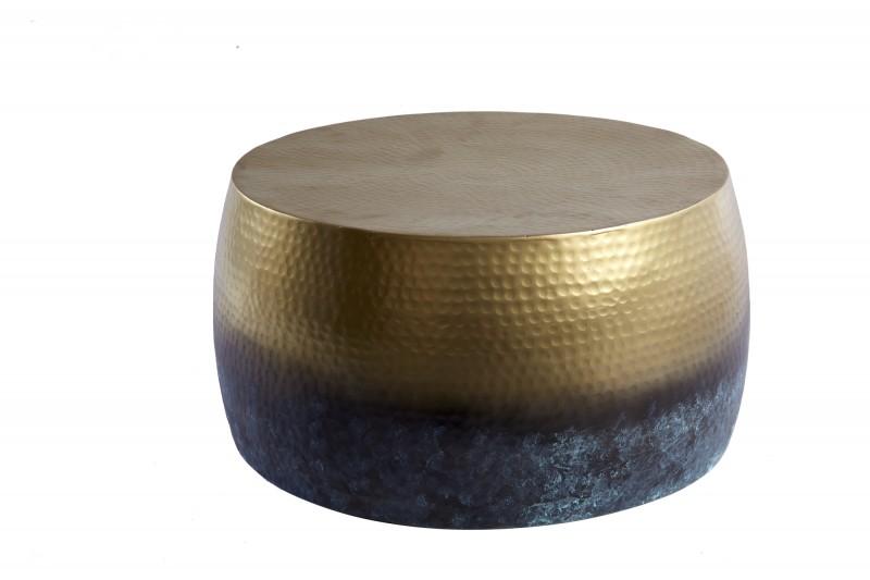 Konferenční stolek Orient III flambované zlato 60cm / 39885