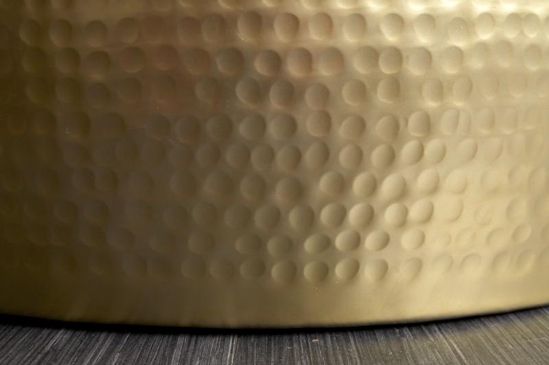 Konferenční stolek Sidon 60cm - zlatý / 39886