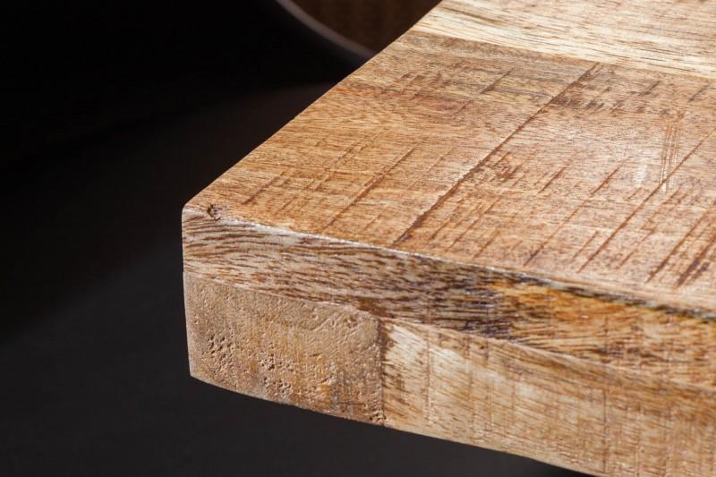 Jídelní stůl Hobart 140cm x 80cm - přírodní mango / 39874