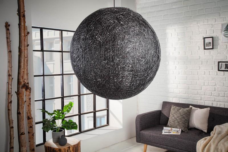 Závěsná lampa Milles - černá 60cm / 11015