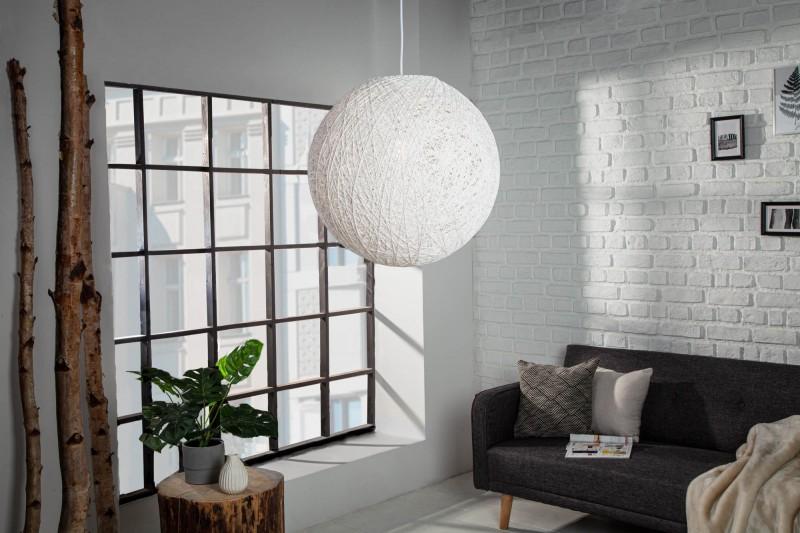 Závěsná lampa Milles - bílá 35cm / 35150