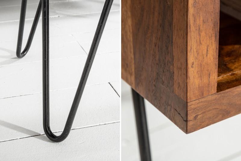Konferenční stolek Scorpion 100cm x 50cm - Sheesham / 39958