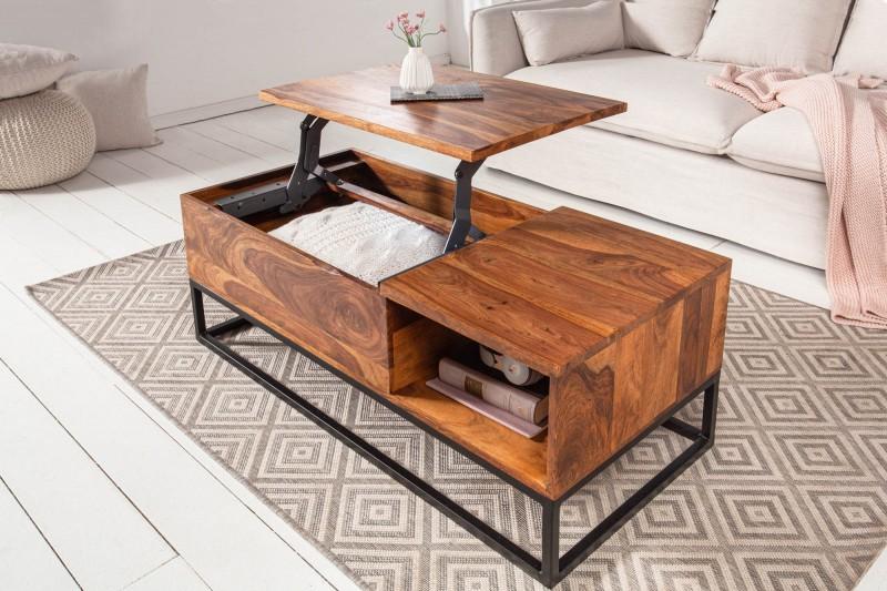 Konferenční stolek Seward 110cm x 40cm - Sheesham / 39962