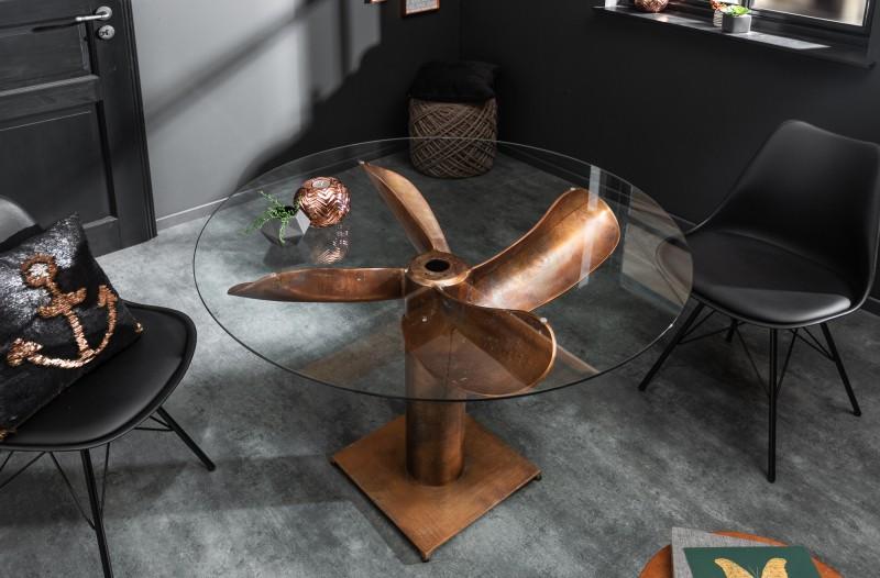 Sklo pro stůl Screw (skleněná deska) 105cm / 39923