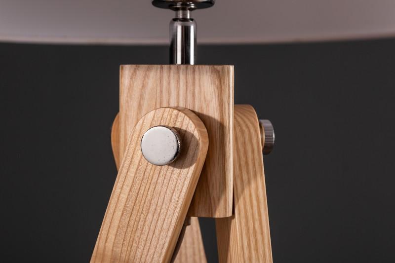 Stojací lampa Retro 155cm - bílá / 39675
