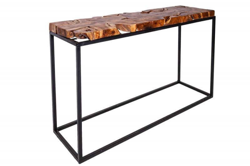 Odkládací stolek Braun 115 cm - teak / 39538