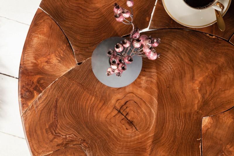 Konferenční stolek Surat 70cm - teak / 39540