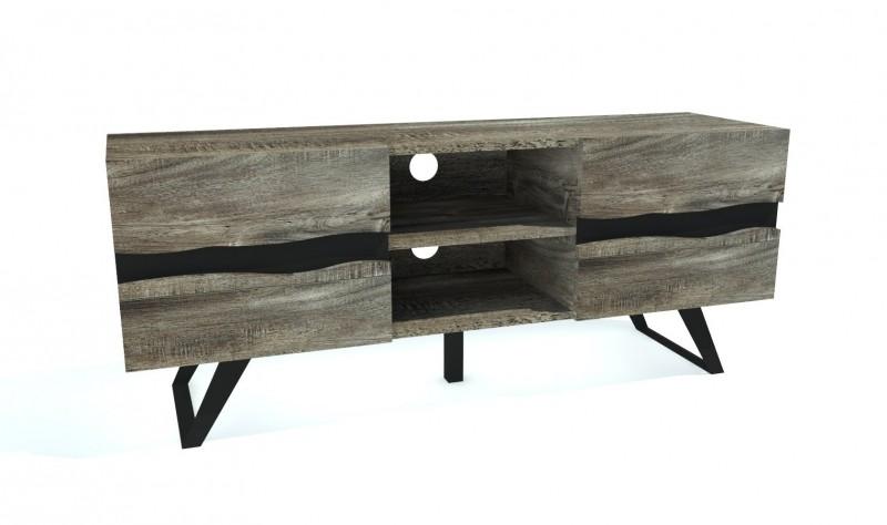 Televizní stolek Yucatán 160cm - šedý akát / 39792