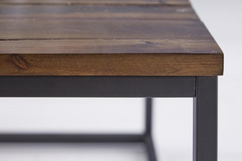 Konferenční stolek Azrou 2ks - přírodní  akácie / 39701