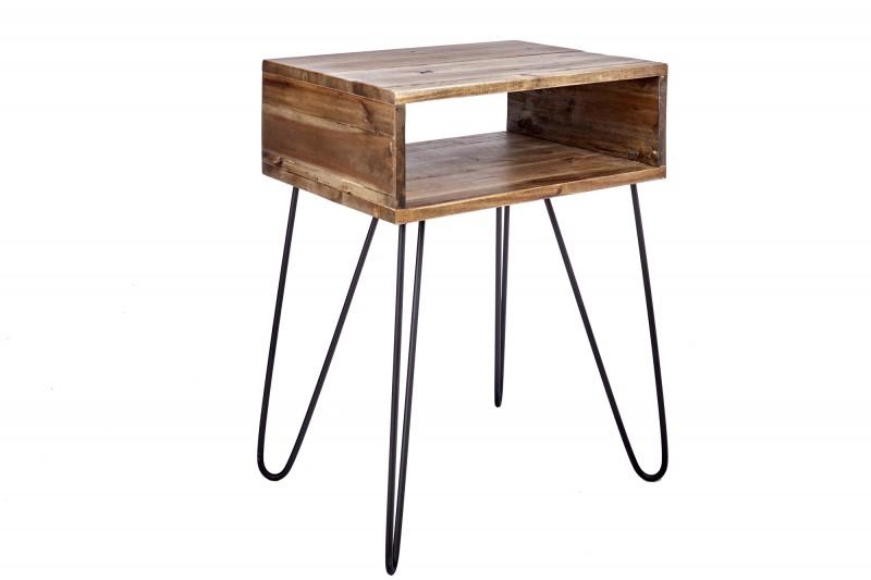 Konferenční stolek Baucau 40cm x 52cm -  akát / 39708