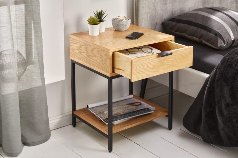 Prvky bočních stolů 40cm dub / 39710