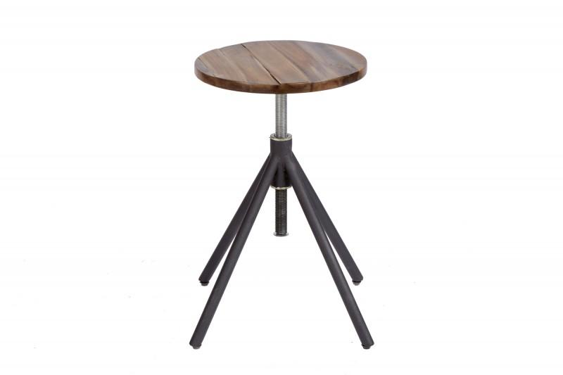 Tovární akátová stolička nastavitelná / 39711