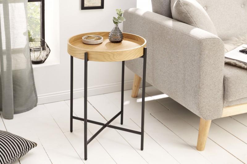 Odkládací stolek Elements 43cm x 55cm - dub / 39712