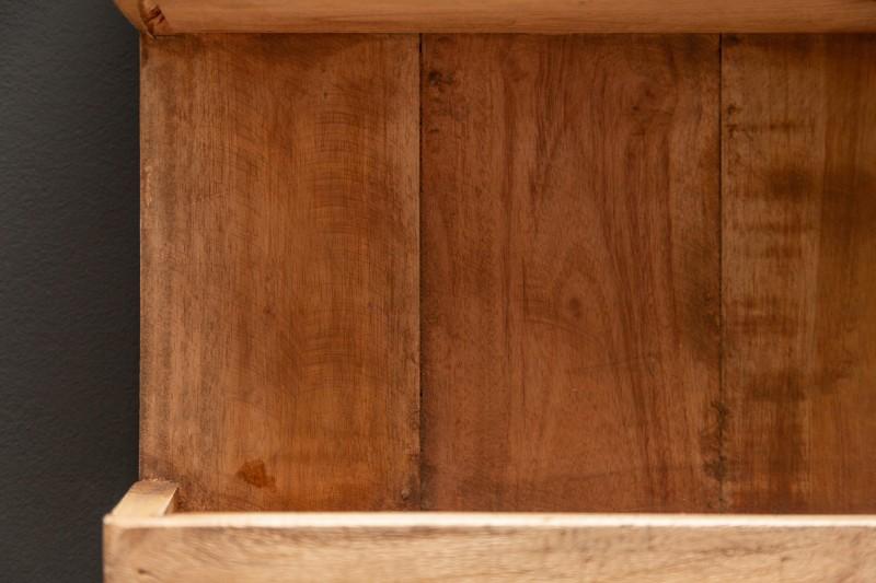 Regál Tyller 30cm x 80cm - recyklované dřevo / 40016