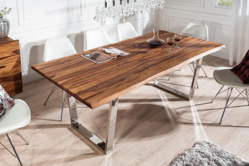 Jídelní stůl Mammut 200cm Sheesham 35mm / 39857