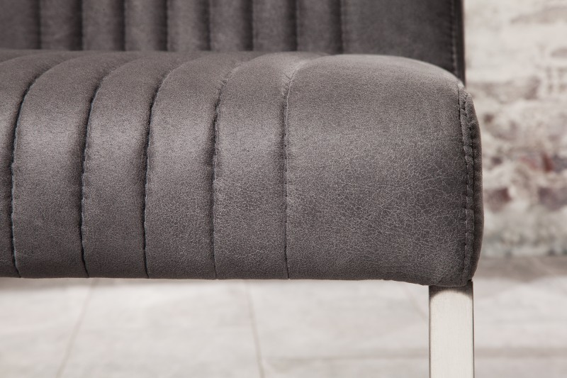 Jídelní židle Megan - vintage šedá / 39853