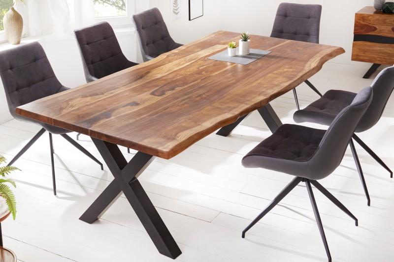 Jídelní stůl Mombasa 220cm x 100cm - Sheesham / 40191