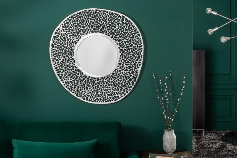 """Nástěnné zrcadlo Dona """"S"""" 76cm - stříbrné / 39989"""