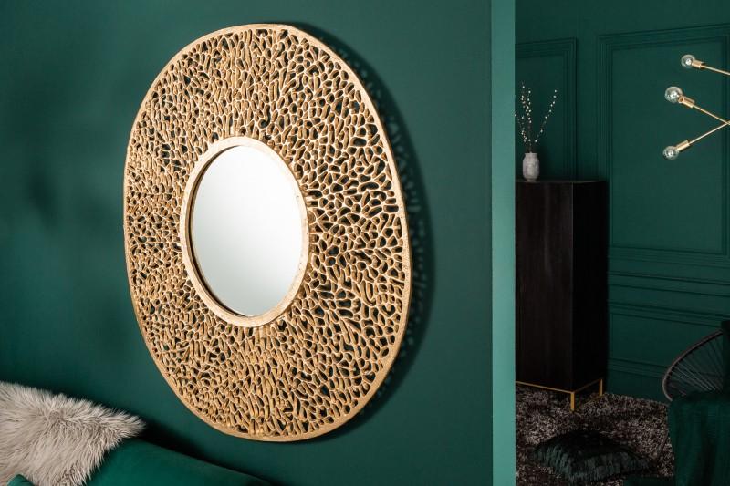 """Nástěnné zrcadlo Dona """"L"""" 112cm - zlaté / 39990"""