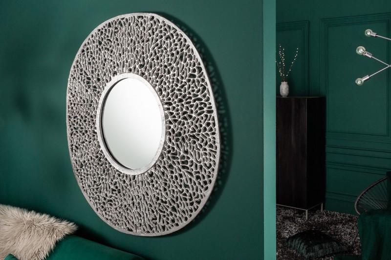 """Nástěnné zrcadlo Dona """"L"""" 112cm  - stříbrné / 39991"""