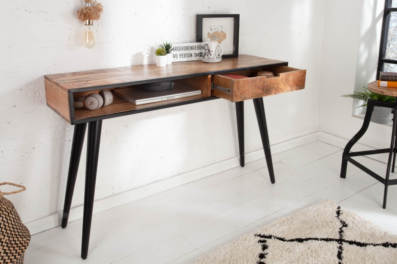 Pracovní stolek Jacob 120cm x 35cm - mango / 39651