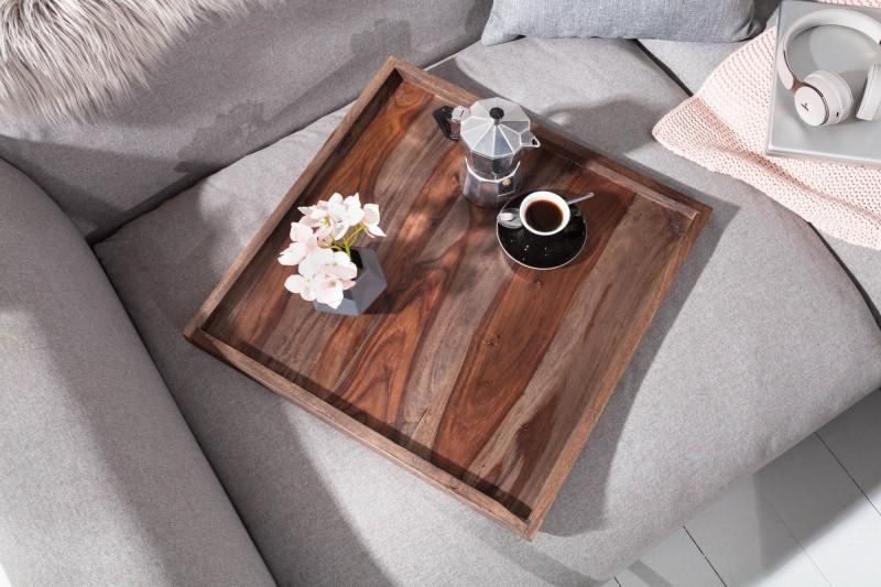 Dřevěný podnos Makassar 50cm - Sheesham / 40180 - 1ks skladem