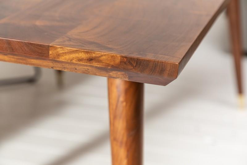 Jídelní stůl Tampico 160cm x 90cm - akát, tmavý / 39945