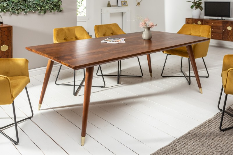 Jídelní stůl Tampico 200cm x 100cm - akát, tmavý / 39946