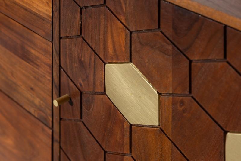 Příborník Tampico 145cm x 75cm - akát / 39947