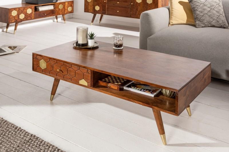 Konferenční stolek Tampico 117cm x 60cm - akácie / 39948
