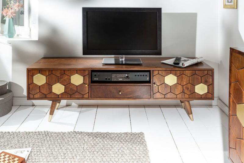 Televizní stolek Tampico 140cm x 45cm - akát / 39949