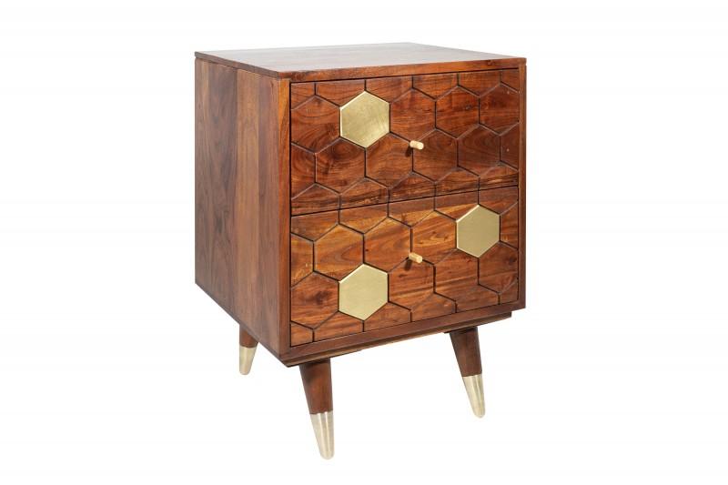Konferenční stolek Mystic Living 40cm - akát / 39950