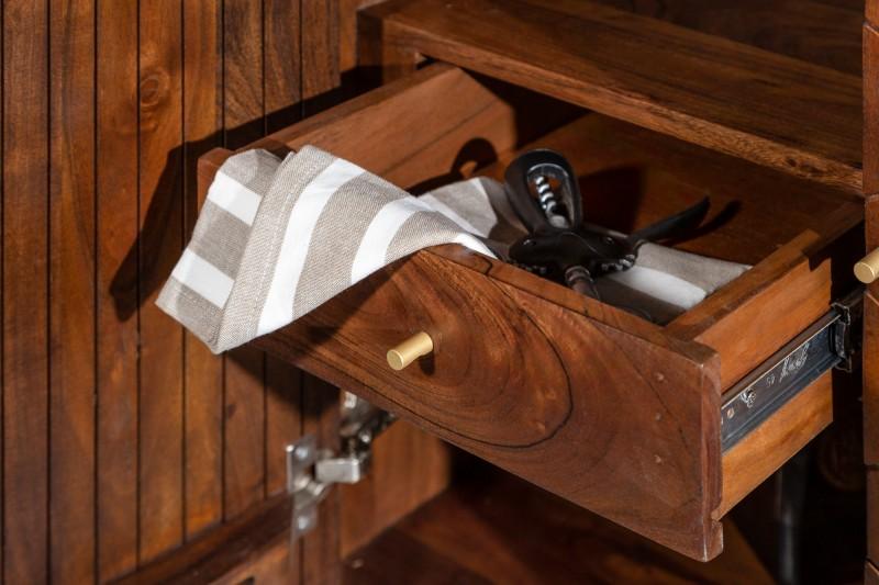 Barová skříňka Tampico 75cm x 96cm - akát / 39951