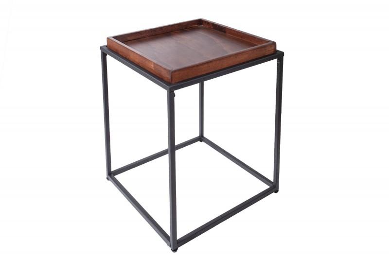 Prvky bočních stolů 40cm buk mocha / 39715
