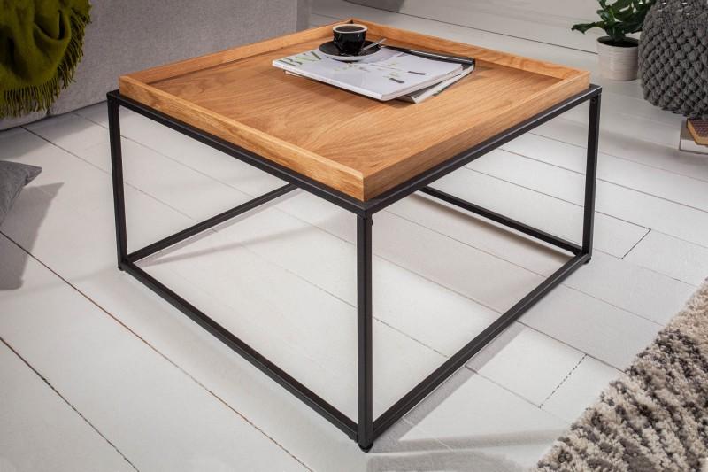 Konferenční stolek Elements 60cm dubový podnos / 39716