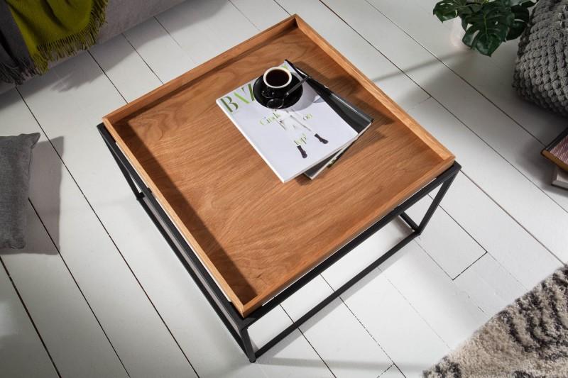 Konferenční stolek Oak Desk 60cm x 60cm - přírodní  dub / 39716