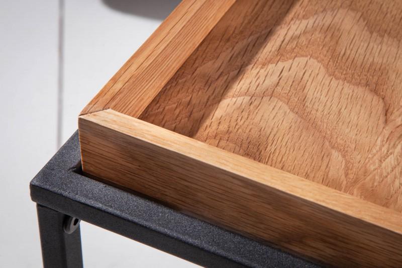 Konferenční stolek Oak Desk 2ks - divoký dub / 39718