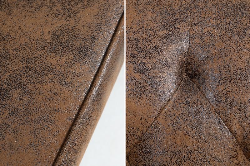 Pohovka Cooper 220cm - starožitná hnědá / 40082