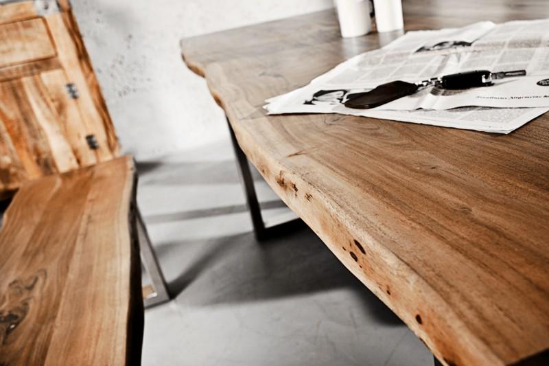 Jídelní stůl Mineiro 160cm x 90cm - akát medový, 35mm / 39391