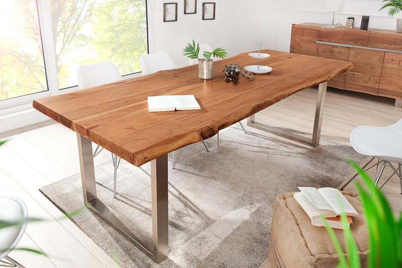 Jídelní stůl Mineiro Strong 200cm x 100cm - akát 60mm / 40127