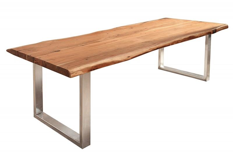 Jídelní stůl Mineiro Strong 220cm x 100cm - akát 60mm / 40000