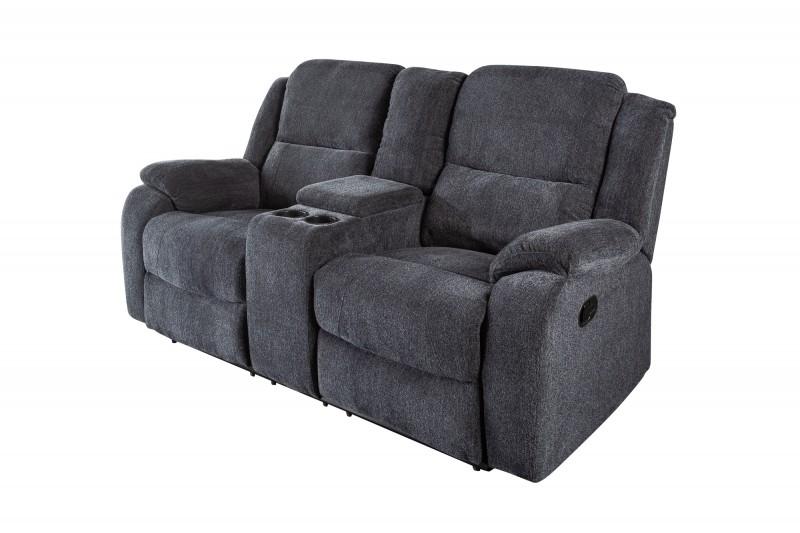 Relaxační křeslo Fullerton 2 - tmavě šedé / 39979