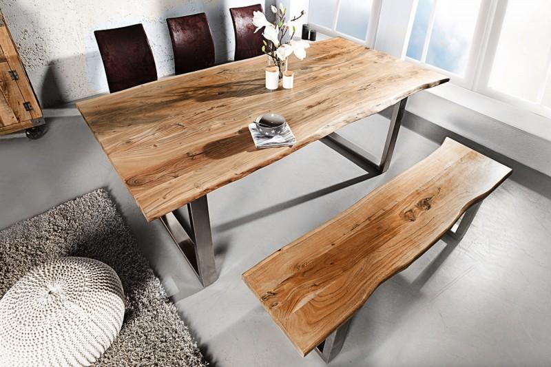 Jídelní stůl Mineiro Honey 180cm x 90cm - akát, medový / 39999