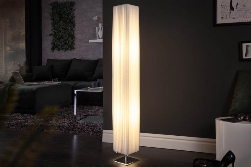 Stojací lampa Paris White 120cm - bílá / 111