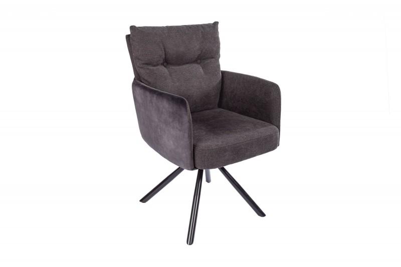 Jídelní židle Preston - antracit / 40168